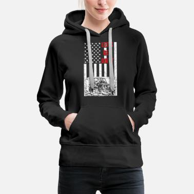 Offroad Vehicles Offroad - Let's get dirty flag - Women's Premium Hoodie