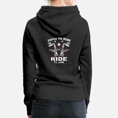 Ride Of Die Born to RIde Since 1994 Hooded Sweatshirt