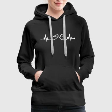 Swim Swimming Shirt - Women's Premium Hoodie