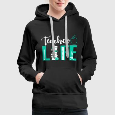 Teacher Shirts - Women's Premium Hoodie
