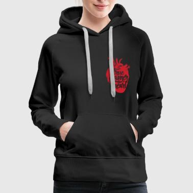 True Gamer Heart Shirt - Women's Premium Hoodie