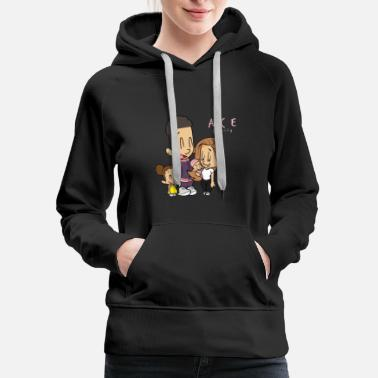 Ace ace family - Women's Premium Hoodie