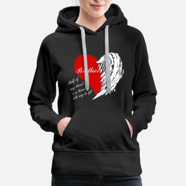 Angel Brother Angel Shirt - Women's Premium Hoodie