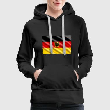 German Eagle Flag - Women's Premium Hoodie
