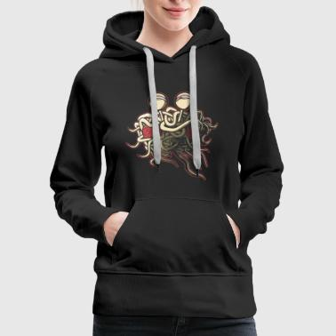 Flying Scheming Flying Spaghetti Monster - Women's Premium Hoodie