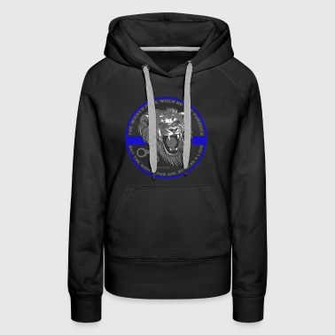 Lion Law Enforcement - Women's Premium Hoodie