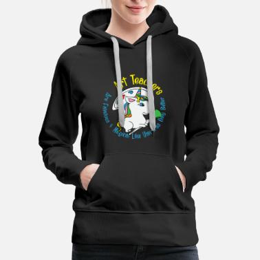 Fabulous Art Teachers Are Fabulous & Magical Like Unicorns - Women's Premium Hoodie