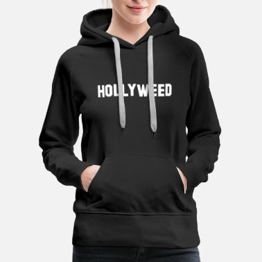 Hollyweed LA - Women's Premium Hoodie