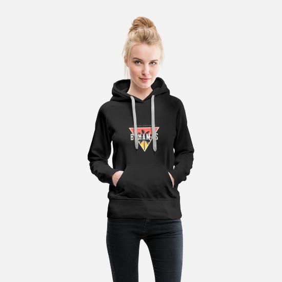 Bahamas Hoodies & Sweatshirts - Bahamas East Bay - Women's Premium Hoodie black