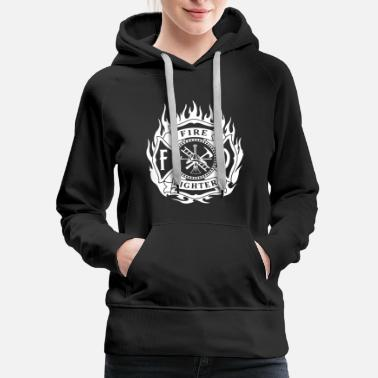 Fire Fire Fighter Shirt - Women's Premium Hoodie