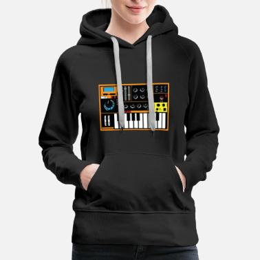 Synthesizer Synthesizer - Women's Premium Hoodie