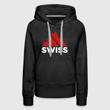 Swiss Mountains Switzerland - Women's Premium Hoodie