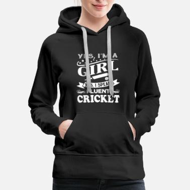 Cricket Fluent Cricket Shirt - Women's Premium Hoodie