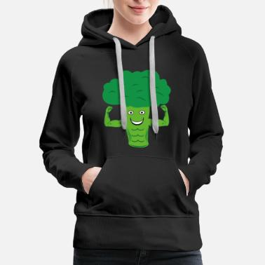 Broccoli Broccoli Vegan Vegetable - Women's Premium Hoodie