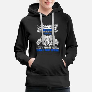 Navy Veteran Female Navy Veteran Shirt - Women's Premium Hoodie