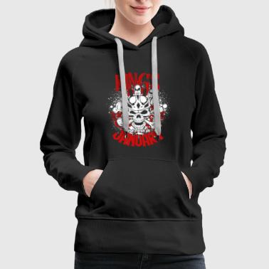 Kings Are Born In January T Shirt - Women's Premium Hoodie