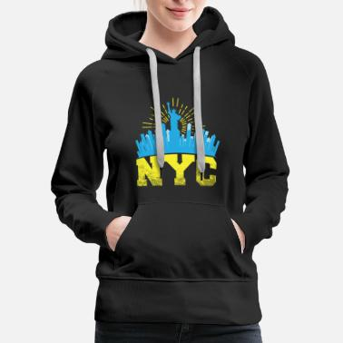 I Love New York New York I love New York gift - Women's Premium Hoodie