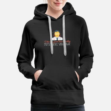 Handwriting Doctor - Good Handwriting - Women's Premium Hoodie