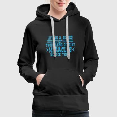 Authority Life is a Series - Women's Premium Hoodie