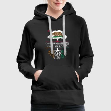 Ivory Coast California Grown with Ivory Coast Roots - Women's Premium Hoodie