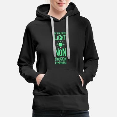 Light - Non-Hodgkin's Lymphoma Awareness - Women's Premium Hoodie