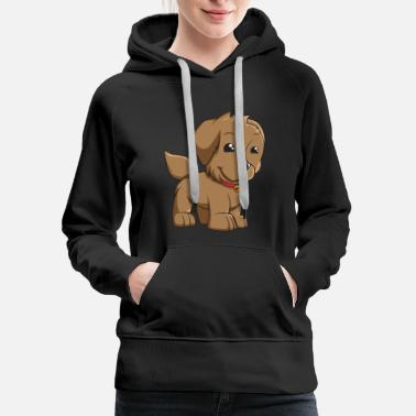 Puppy smiley - Women's Premium Hoodie