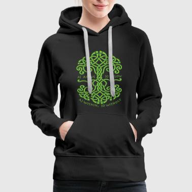 Magick - as above so below wiccan pagan for witc - Women's Premium Hoodie