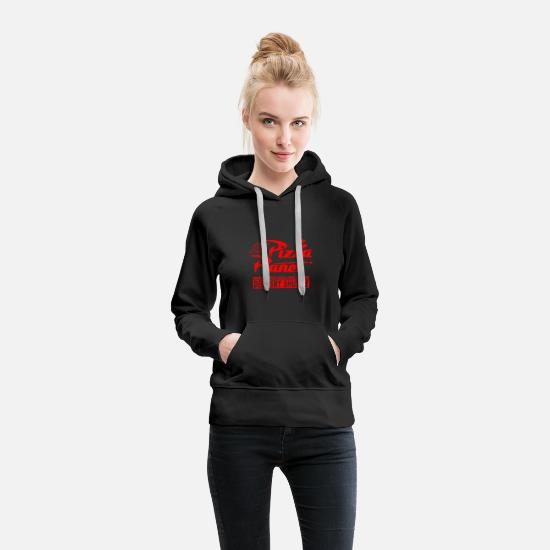 Planet Hoodies & Sweatshirts - Pizza Planet - Women's Premium Hoodie black
