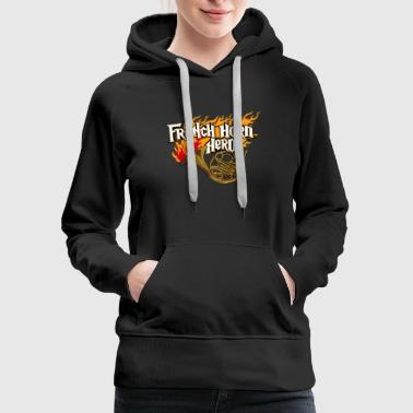 Horn French Horn - Women's Premium Hoodie