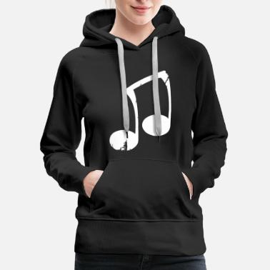 Note Clue Note funny - Women's Premium Hoodie