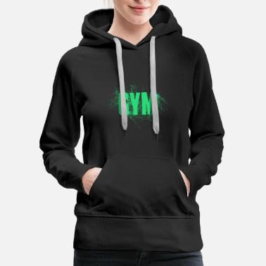 Word Gym Fitness Word - Women's Premium Hoodie