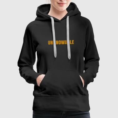 UNKNOWABLE - Women's Premium Hoodie