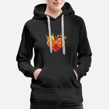 Golden Crown Be My Lover - Women's Premium Hoodie