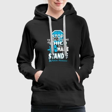 Autism Autism Awareness - Women's Premium Hoodie