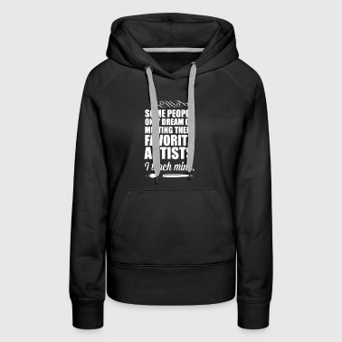 Art Teacher Shirt - Women's Premium Hoodie