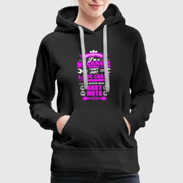 Mechanic Girl Shirt - Women's Premium Hoodie