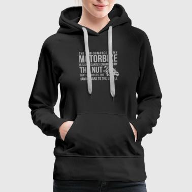 Handlebars To The Saddle - Women's Premium Hoodie
