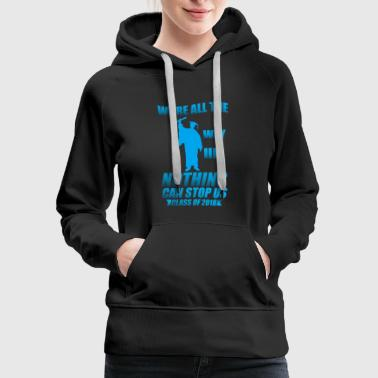 Class of 2018 Senior T-shirt - Women's Premium Hoodie