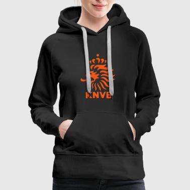 Netherlands Holland Oranje Total Dutch Soccer Logo - Women's Premium Hoodie