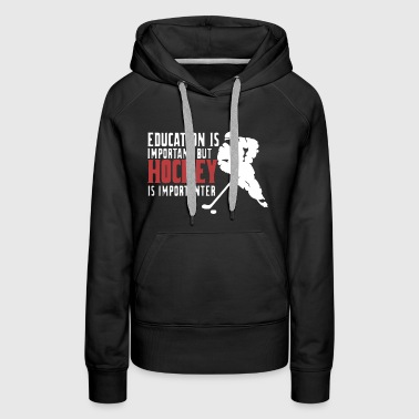 Hockey USA Shirt - Women's Premium Hoodie