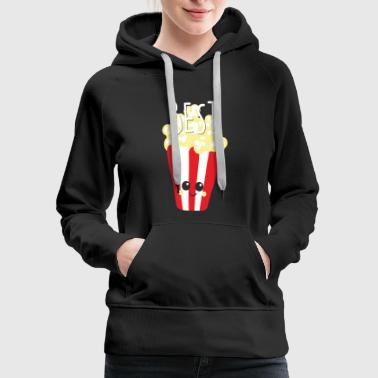 Hamburger - bestie cute food bff best friend mo - Women's Premium Hoodie