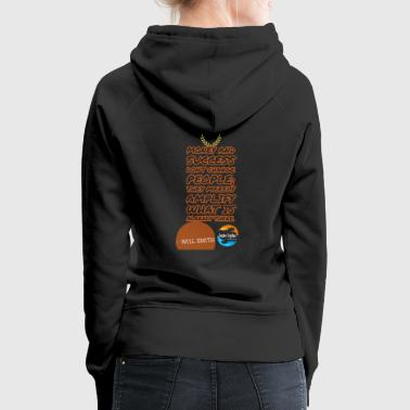 Success don't change people it merely amplify.. - Women's Premium Hoodie