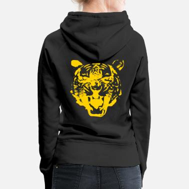 Tiger - choose your own color! - Women's Premium Hoodie