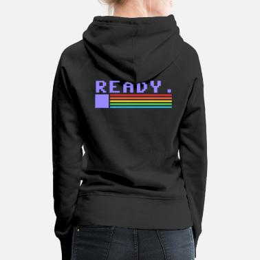 Ready for you, Commodore - Women's Premium Hoodie - Women's Premium Hoodie