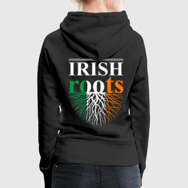 Irish Roots Tshirt - Women's Premium Hoodie