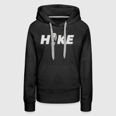 Lets Hike Outdoors And Camp - Women's Premium Hoodie