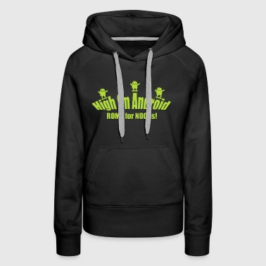 Android on High - Women's Premium Hoodie