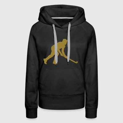 Golden Floorball - Women's Premium Hoodie