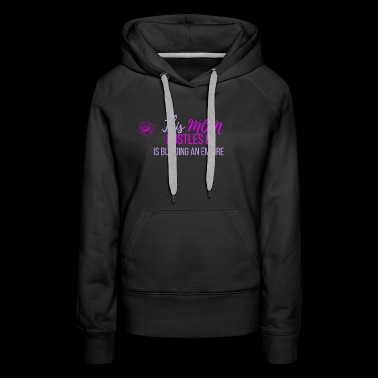 This Mom Hustles - Women's Premium Hoodie