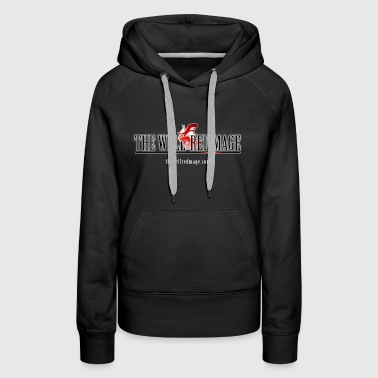 The Well-Red Mage FF Web - Women's Premium Hoodie